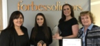 Lancashire law firm Forbes Wins Two in Damar Apprenticeship Awards