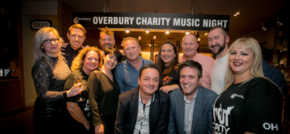 Overbury charity gig is top of the props