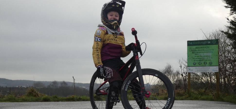 Derby BMX champion scores sponsorship deal with national housebuilder