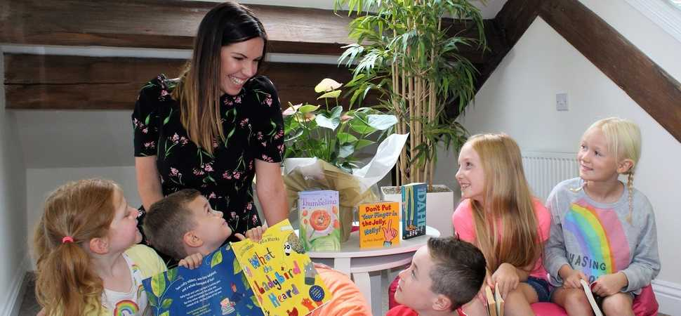 Wordsmiths at Scriba PR set to donate 250 books to Yorkshires youngsters