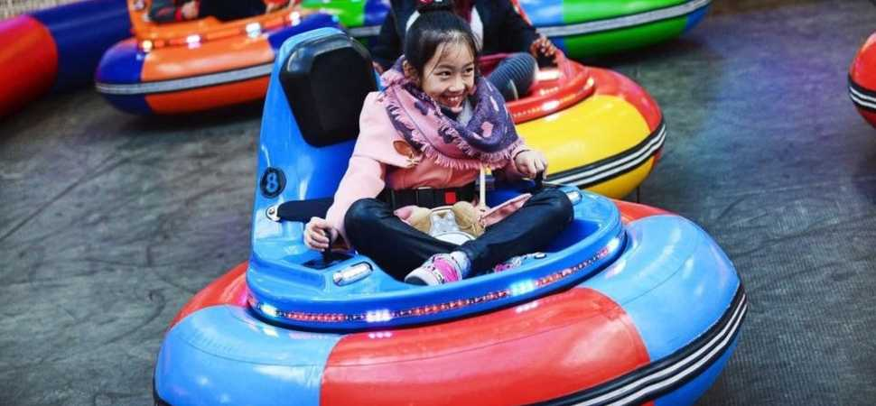 The biggest indoor inflatable theme park makes its UK debut in Liverpool