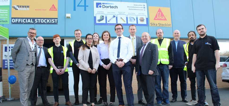 Growing Huddersfield business launches building supplies counter for public
