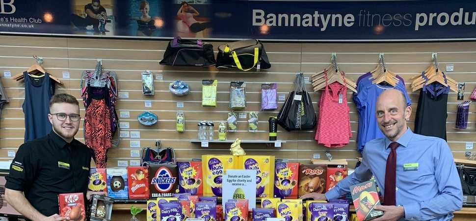 York health club members donate hundreds of Easter eggs to local good causes