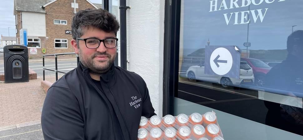 Community Spirit Pours Out of Chip Shop