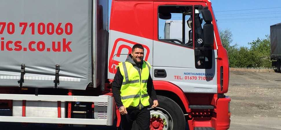 Newcastle Thunder stars swap the rugby pitch for the road with Moody Logistics