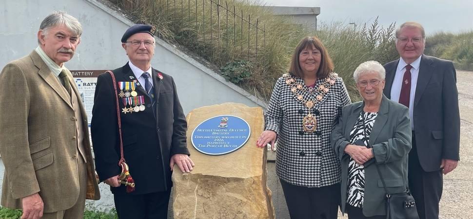 Historic Site Gains Blue Plaque Honour