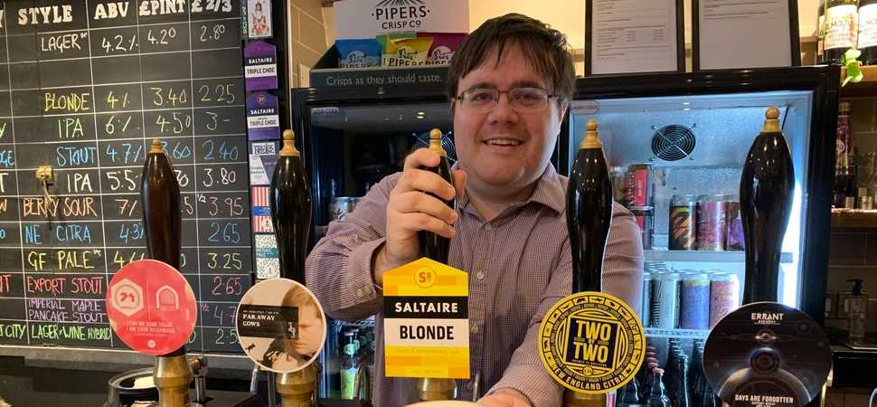 Anthony is the perfect head for North Easts premier beer festival