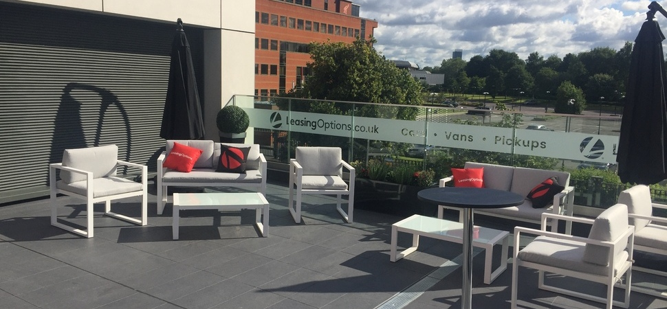 LeasingOptions.co.uk Presents New Terrace at Lancashire County Cricket Club