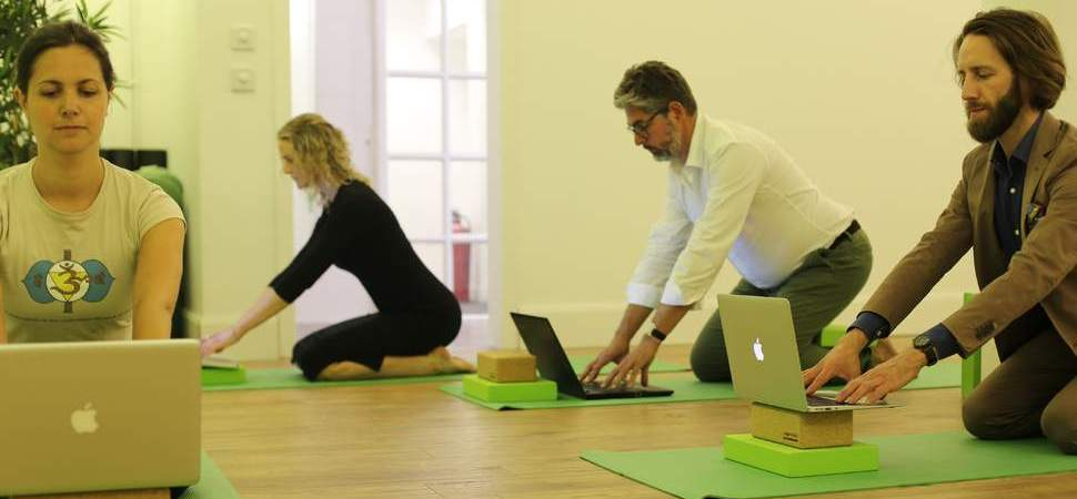 Local business opens new yoga studio on International Yoga Day