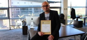 High Sheriff award recognition for Cheshire-based digital agency boss