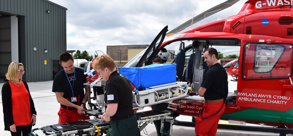Air ambulance charity launches Wales first flight incubator