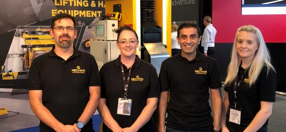 Mechan brings best of Europe to UK rail show