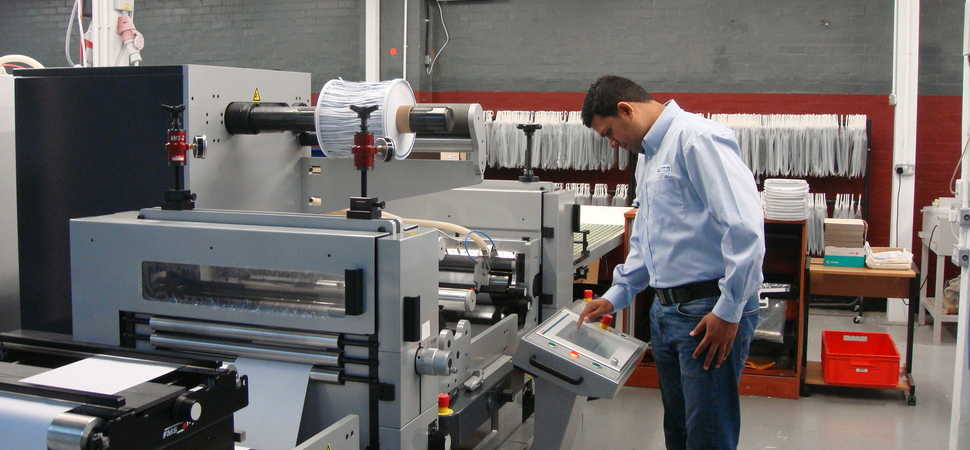 £600,000 printer investment boosts growth at Peterborough label manufacturer