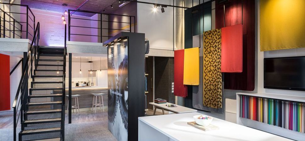 Spatial fits-out Camira's prestigious Clerkenwell showroom