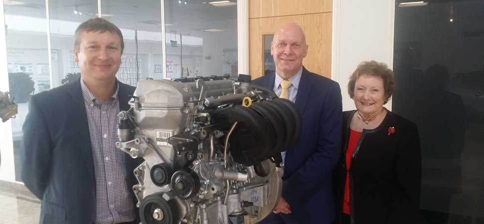 IoD North Wales members go behind the scenes at Toyota