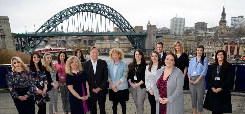 Newcastle Business School hosts ITT Future You careers roadshow at the Sage