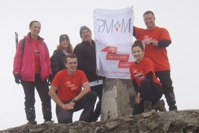 Jackie Fisher from Run My Business Conquers Ben Nevis for Charity