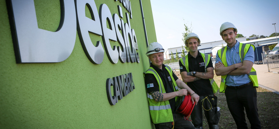 Jackson Fire & Security wins £56,000 contract for new Coleg Cambria sixth form