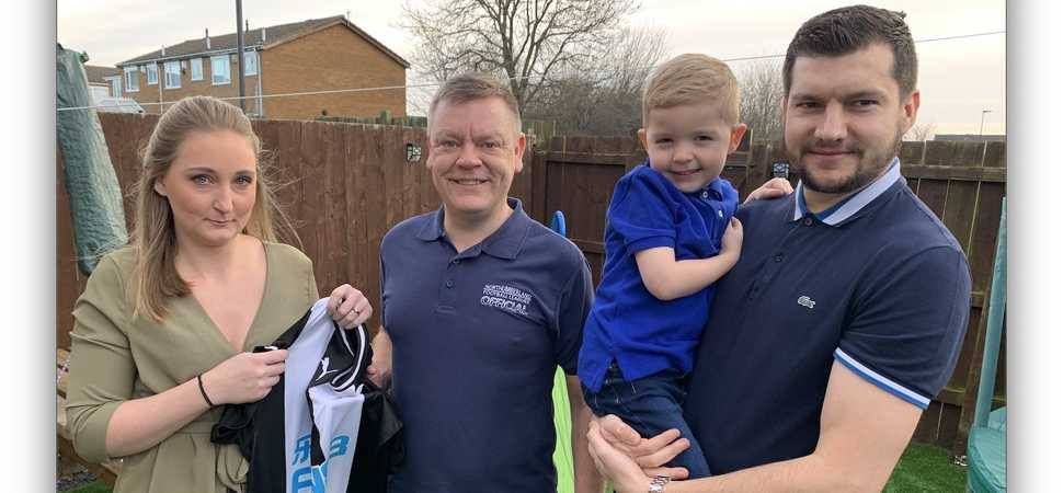 Grassroots Football League Helps Jacob