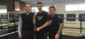 Palletower agrees sponsorship deal with rising boxing star
