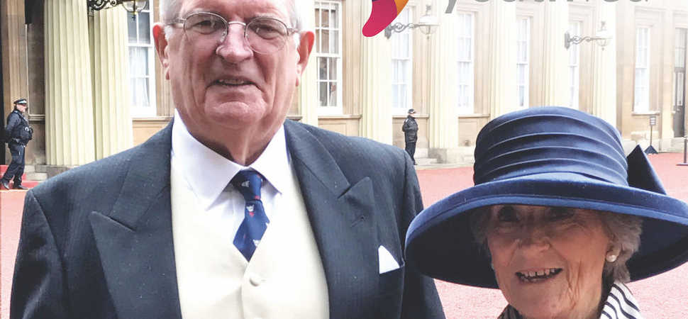 Youth Fed Chair James Bisset Awarded MBE at Buckingham Palace