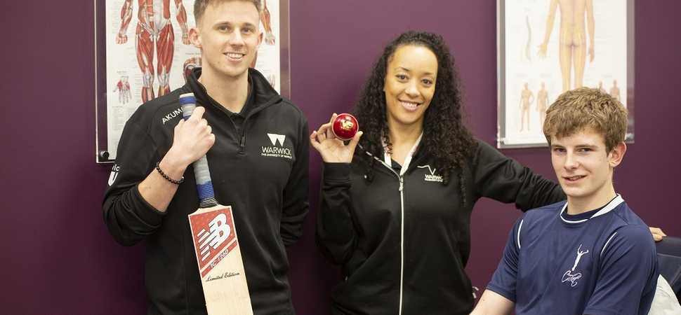 Coventry cricket prodigy completes injury rehab in time for Barbados tour