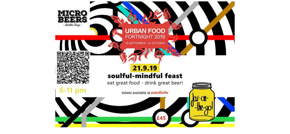 Soulful-Mindful Feast by jar-on-the-go - Urban Food Fortnight 2019