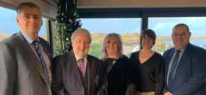 Roy Broadcasts Bonhomie at Pembrokeshire Networking Lunch