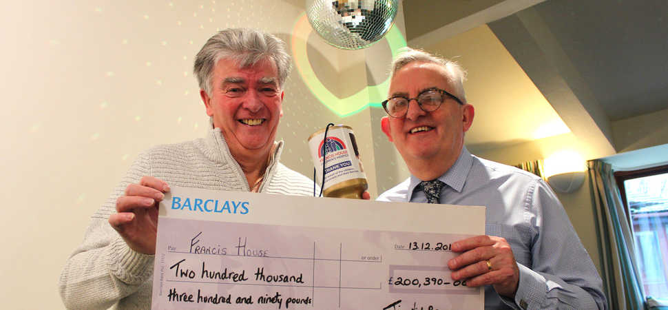 Elvis impersonator Jim rocks his way to £200K for Francis House