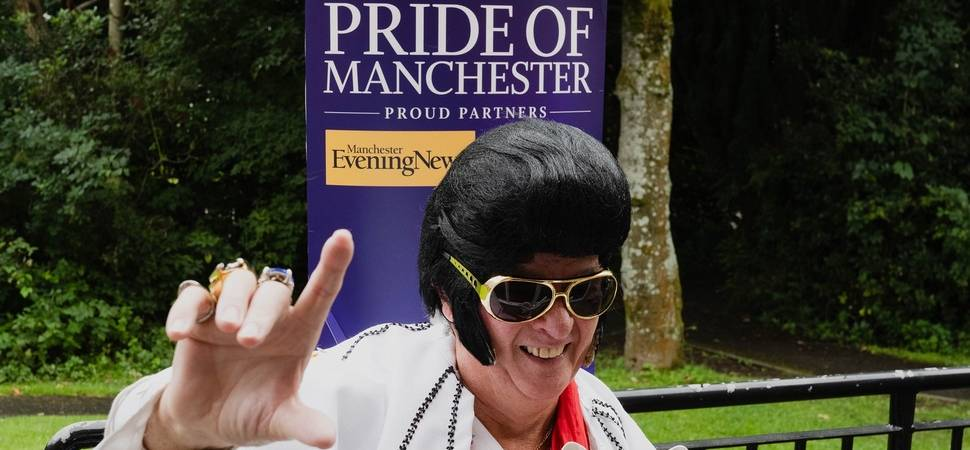 Jim's hospice fundraising wins him Pride of Manchester Award