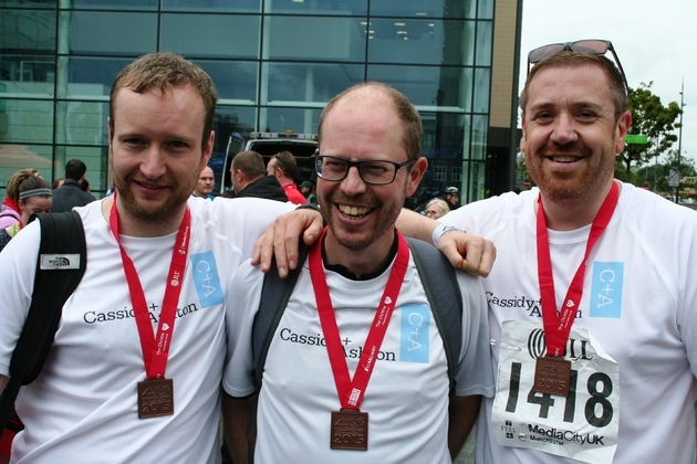 Businessmen Champion Chester At Charity Triathlon