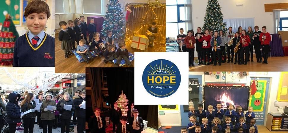 Education trust unites region's children in mass Christmas choir