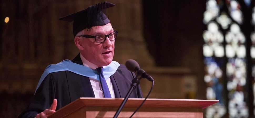 Walsall business leader awarded Honorary MBA