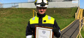 Lynemouth Power Receive Prestigious Health And Safety Award
