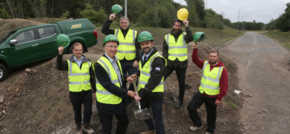 Jones Bros starts work on major highway in Wigan