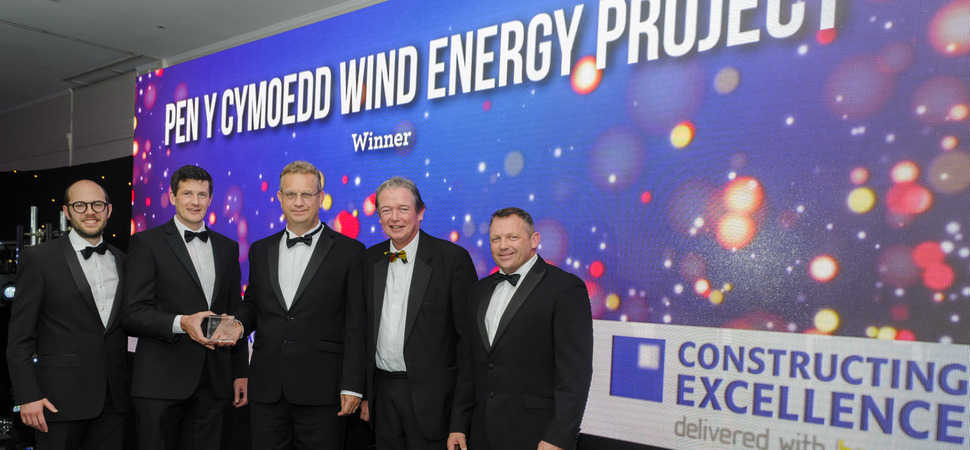 Wind farm generates awards success for Jones Bros