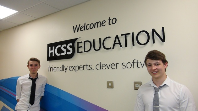 HCSS Education hires two apprentices to join its growing operation