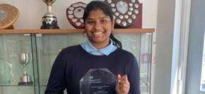 Schools Minister presents Sunderland student with 2021 Lord Glenamara Prize