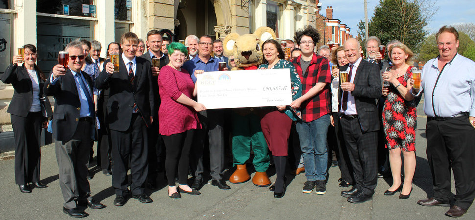 Brewery Joseph Holt topple fundraising target for hospice