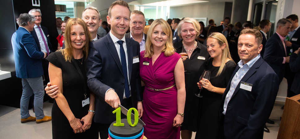 Shoosmiths Manchester celebrates a decade of success