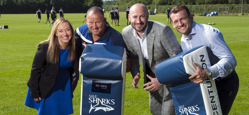 INNSIDE by Melia Manchester announce Sale Sharks partnership