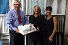 Beta Group honours Julie for 25 years' service