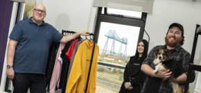 Blue Kangaroo Jumps Through Hoops to Help Middlesbrough Design Agency