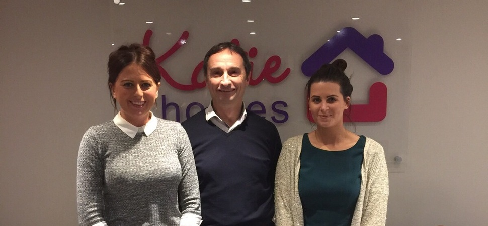 Katie Homes teams up with Pete Lowe to drive business growth
