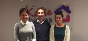 Cheshire-based Katie Homes teams up with Pete Lowe to drive business growth