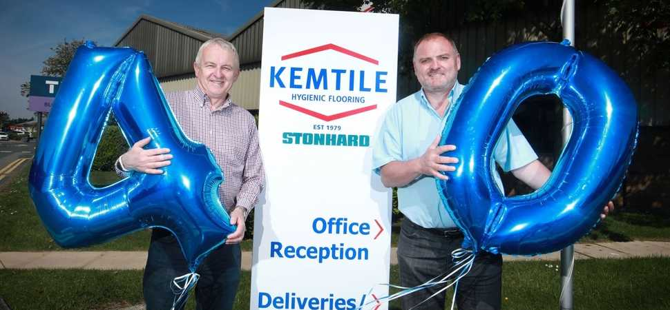 Commercial flooring specialist Kemtile celebrates 40 years