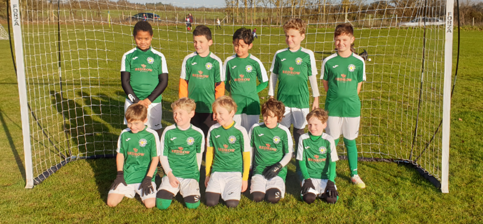 Ready for kick off  Oxford housebuilder supports grassroots sports team