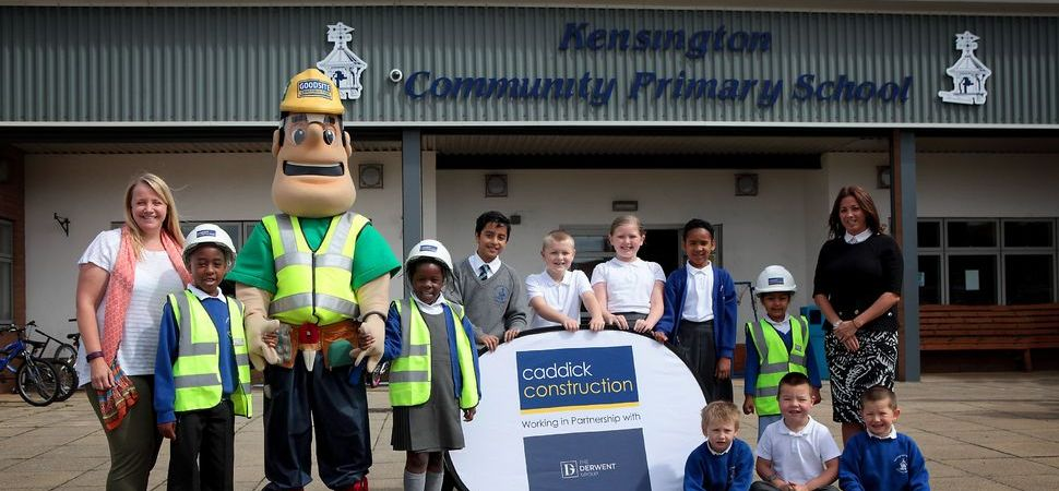 Liverpool Shopping Park Team conducts site safety talks at Liverpool schools