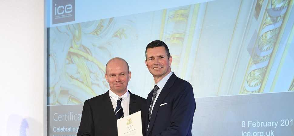Two North East engineers achieve professional awards