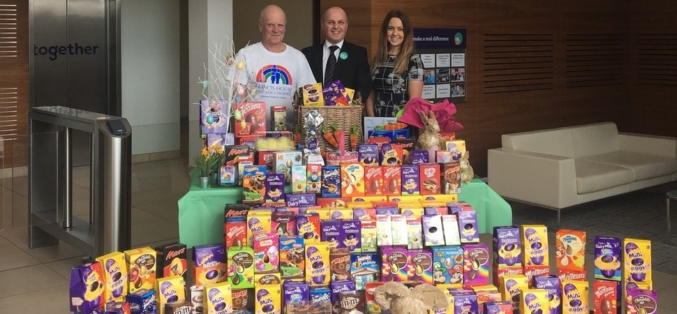 Together shells out 250 Easter eggs to charity